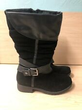 NEW STRIDE RITE LONG BOOT TODDLER GIRLS /BLACK SIZE US 13M