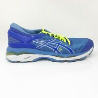 Asics Womens Gel Kayano 24 T7A5N Blue Running Shoes Lace Up Low Top Size 8 D