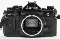 Canon A-1 Body Gehäuse analoge Spiegelreflexkamera Kamera Camera schwarz