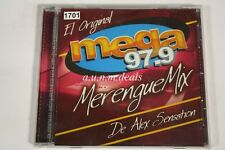 El Original Merengue Mix De Alex Sensation - Mega 97.9 Music CD