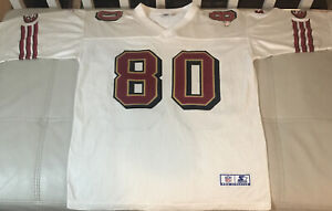 NWOT  Authentic Sewn Starter Jerry Rice San Francisco 49ers Jersey Size 52 XL