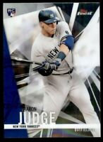 2017 Topps Finest AARON JUDGE ROOKIE #2 New York Yankees
