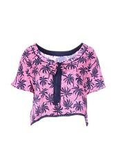 NEW BEAUTIFUL JUICY COUTURE 100% SILK & LACE TOP L  RRP£133