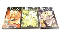 QWAN Volumes 1, 2, 3 by Aki Shimizu TOKYOPOP (2005) Manga Graphic Novel