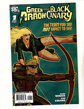 Green Arrow/Black Canary #1 (2007, Dc) Vf/Nm Laurel Lance Oliver Queen Cw Show