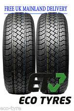 2X Tyres 265 65 R17 112H XL House Brand SUV E B 73dB