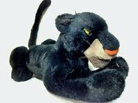 "Jungle Book Bagheera Black Panther Disney Exclusive Plush Stuffed Cat 27"" w/tail"