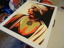 """Obey Giant Shepard Fairey """" PEACE GIRL - WOMAN """" ART PRINT RARE PASTER POSTER 1"""
