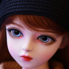1/3 BJD Doll Ball Jointed Girl Toy With Face Makeup Changeable Eyes Wigs Clothes