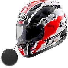 Arai RX7 RR GP 10> Motorcycle Helmet Dark Black Tint Replacement Race Visor