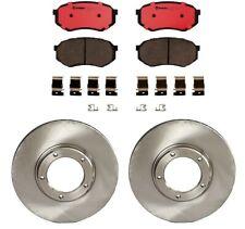 2-21080 Rear Brake Drums /& Enduro Shoe /& Hardware Kit for Toyota 4Runner P//U