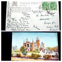 "VERY RARE INDIA 1904 KING EDWARD VII STAMPS ""MADRAS SENATE HOUSE"" POSTALY USED"