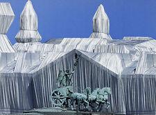 Christo Reichstag con quadriga poster stampa d'arte immagine 30x40cm-porto franco