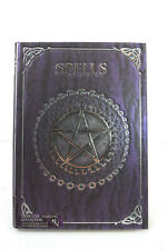 Nemesis Now Embossed Purple Spell Book Pentagram Witch Wicca Journal Gothic Gift