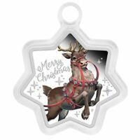 2019 Australian Christmas Star Shaped Reindeer 1 Oz Coin