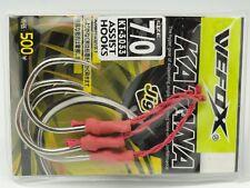 V/W-FOX KATANA KT-3033 SUS 7/0 Jigging Fishing Assist Hooks W 300lb Kevlar Japan