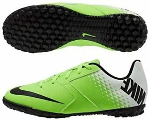 Nike  Bomba TF-Youth & Adult Turf Soccer Shoe, Electric Green, Choose Size!