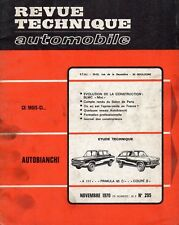 Revue Technique Automobile - Autobianchi A 111 - Primula 65 C - Coupé S - N° 295