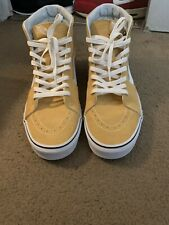 614aaacd9c8 Color  Yellow. Vans SK8-Hi Ochre True White