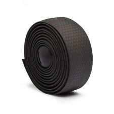 Fabric Silicone Road Bike Handle Bar Tape - Black - SuperX, EVO Synapse Topstone