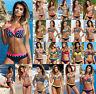 UK Womens Padded Push-up Bra Bikini Set Swimsuit Bathing Suit Swimwear Beachwear