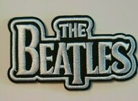 """The Beatles~Embroidered Applique PATCH~3 3/8"""" X 2""""~Iron or Sew On~Collect"""