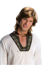 FANCY DRESS WIG ~ MENS 70'S GUY WIG MIXED BLONDE
