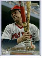 Carlton Fisk 2019 Topps Stadium Club 5x7 Gold #208 /10 Red Sox