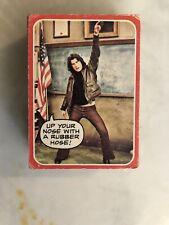 1976 Topps Welcome Back Kotter TV Complete 53-Card ROUGH Set John Travolta