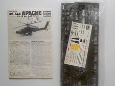 MAQUETTE HASEGAWA AH 64 A APACHE EN SACHET  1/72