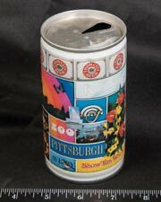 Vintage Iron City Pittsburgh Zoo Aviary 12 oz Pull Tab Empty Beer Can amk