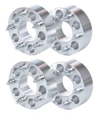 """4 WHEEL SPACERS ADAPTERS 5x135 TO 5x4.75(5x120) 1.25"""" THICK 14x2 STUDS MOST FORD"""