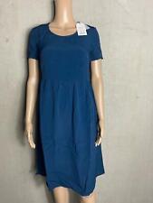 NOA NOA - schlichtes elegantes Kleid DOTTET MOSS blau -  NEU Gr. 38 M 1250a