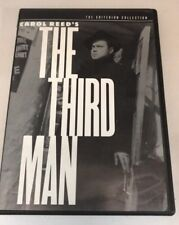 The Third Man (DVD, 1999, Criterion Collection) Very Good