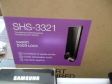 Samsung Ezon SHS-3321 Keyless Smart Universial Deadbolt Digital Door Lock, Black
