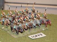 25mm dark ages / hun - cavalry 12 cavalry - cav (10843)