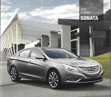 2013 13  Hyundai  Sonata  original  brochure MINT