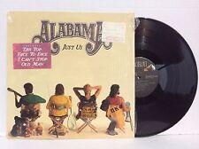 ALABAMA  Just Us vinyl LP RCA 6495-1-R archive MINT w/ hype sticker 1987