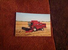 Rare Case IH CT5080 (New Holland TX68) combine photograph (tractor brochure)