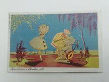 Cartolina Pubblicitaria Sacchetti Carta Goglio Rho Milano Serie Pierot 5