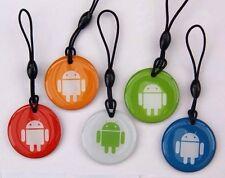 NFC tag Android ntag 203 5er set porte clé-pour tous les périphériques NFC!!!