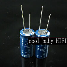 2pcs Japan ELNA 4700uf 25v 4700mfd Audio Capacitor 16*31mm 85℃