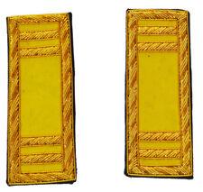 American Civil War Pair Union Cavalry Captain Insignia Shoulder Boards 10 x 3.5