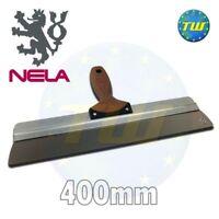 NELA 16in 40cm Finishing Spatula - Plastering Skimming Spat 400mm