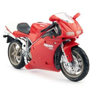 Ducati 998S red - NewRay 1:12 Scale Plastic Model Motorcycle