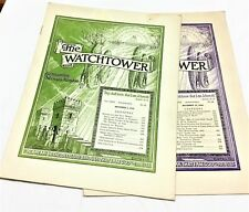 Watchtower - The Large Size Very Old Ones - Entire Year - 1943