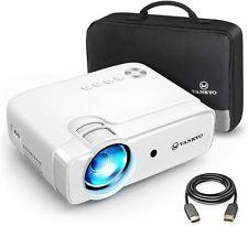 VANKYO Leisure 430 Mini Beamer, 4500 Lux Heimkino Beamer, Support 1080P Full HD