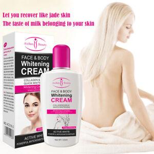 Collagen Milk Bleaching Face Body Cream skin whitening Moisturizing Body Lotion