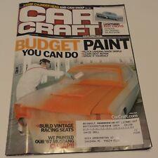 CAR CRAFT MAGAZINE APRIL 2008 PUBLICATION Nova Camaro Biscayne Mustang Paint