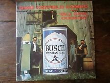 DIXIE HATFIELD COMBO Tall Cool Country LP Vintage Busch Beer Can Picture Cover